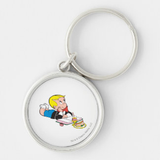 Richie Rich Studying - Color Keychain