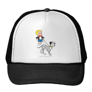 Richie Rich Walks Dollar the Dog - Color Trucker Hat