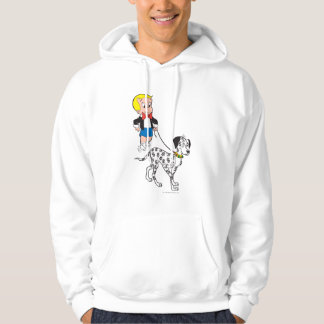 Richie Rich Walks Dollar the Dog - Color Hoodie