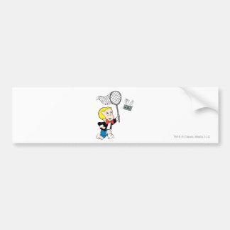 Richie Rich with Net - Color Bumper Sticker