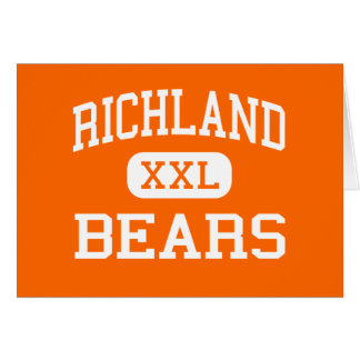 Richland - Bears - High School - Richland Missouri Card