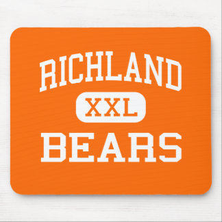 Richland - Bears - High School - Richland Missouri Mouse Pad