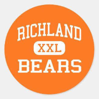 Richland - Bears - High School - Richland Missouri Stickers