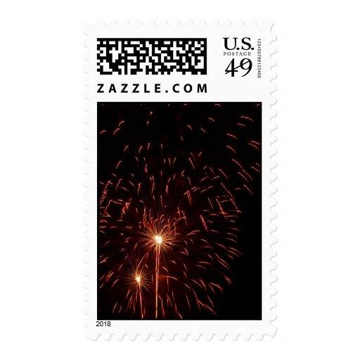 Richland Center Wisconsin Fireworks 2008 (P7) Stamps