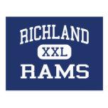 Richland - espolones - alto - Johnstown Tarjeta Postal
