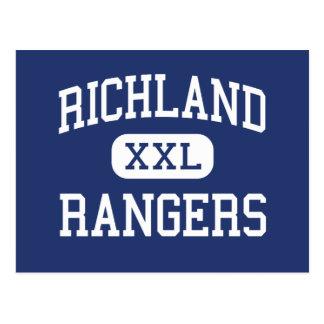 Richland - guardabosques - alto - Richland Postal