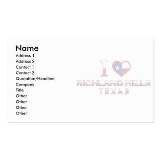 Richland Hills, Texas Business Card