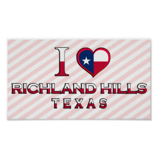 Richland Hills, Texas Poster