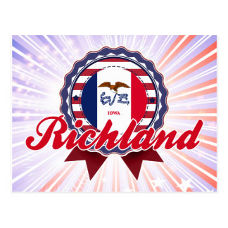 Richland, IA Tarjetas Postales