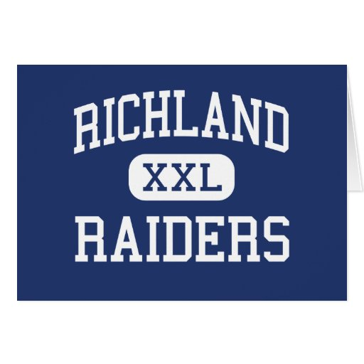Richland Raiders Middle Richland Center Greeting Card