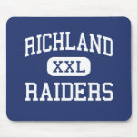 Richland Raiders Middle Richland Center Mouse Pads