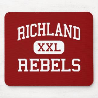Richland - Rebels - High School - Essex Missouri Mouse Mats