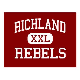 Richland - Rebels - High School - Essex Missouri Postcard