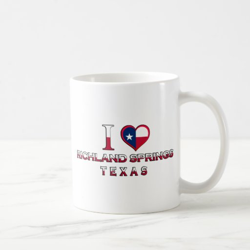 Richland Springs, Texas Coffee Mug