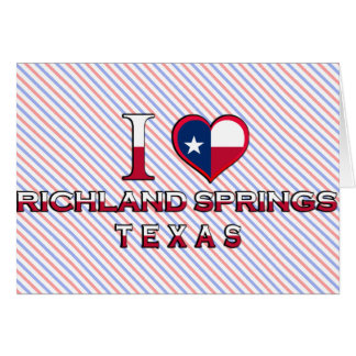 Richland Springs, Texas Greeting Cards