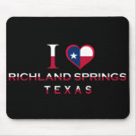 Richland Springs, Texas Mouse Pads