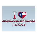 Richland Springs, Texas Postcards