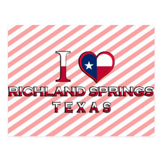 Richland Springs, Texas Postcards