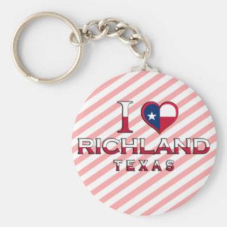 Richland, Texas Keychains