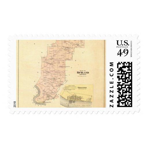Richland Township Stamp