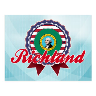 Richland, WA Tarjeta Postal