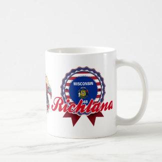 Richland, WI Classic White Coffee Mug