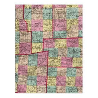Richland y condados de Wayne Postal