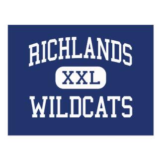 Richlands - gatos monteses - alto - Richlands Postal