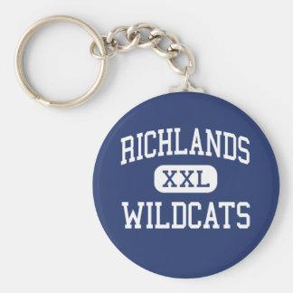 Richlands - Wildcats - High - Richlands Key Chains