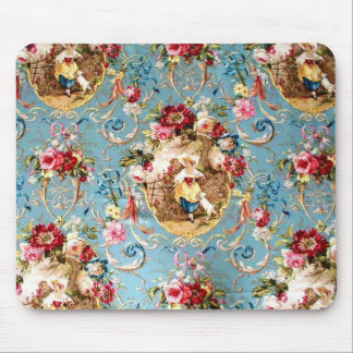 Richloom Fragonard Cornflower Blue French Country  Mouse Pad