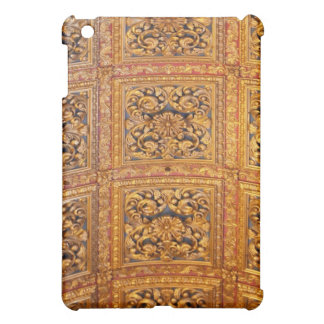Richly decorated ceiling case for the iPad mini