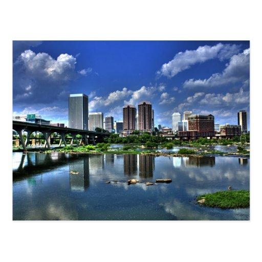 Richmond a lo largo del río postales
