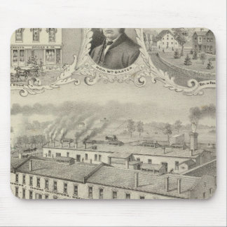 Richmond Agricultural Works, Richmond, Ind Mouse Pad