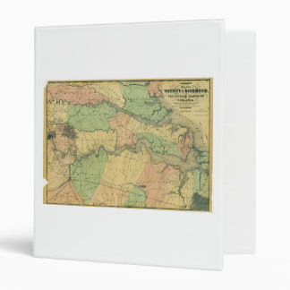 Richmond and Peninsular Campaign in Virginia 1864 3 Ring Binder
