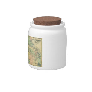 Richmond and Peninsular Campaign in Virginia 1864 Candy Jar