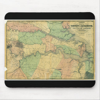 Richmond and Peninsular Campaign in Virginia 1864 Mouse Pad