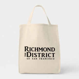 Richmond Blog Grocery Tote - no URL Tote Bags