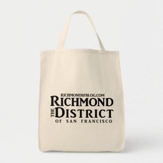Richmond Blog Grocery Tote Tote Bag