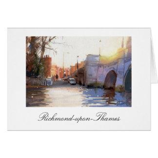 Richmond Bridge, Richmond-upon-Thames Card