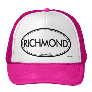 Richmond, Canada Trucker Hat