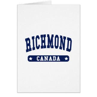 Richmond Card