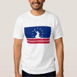 Richmond city flag united state america Virginia Tee Shirt