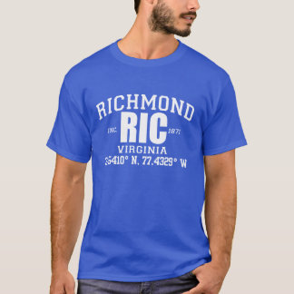 RICHMOND City Incorporated Coordinates Tee