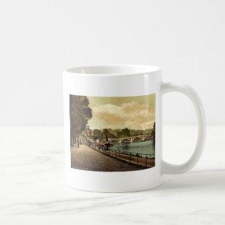 Richmond, el puente, Londres y suburbios, Inglater Taza De Café