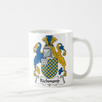 Richmond Family Crest Mug