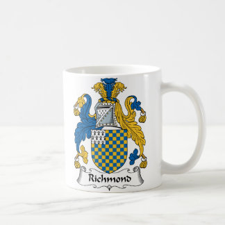 Richmond Family Crest Coffee Mug