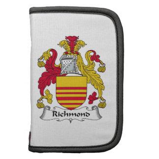 Richmond Family Crest Folio Planner