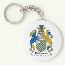 Richmond Family Crest Keychain