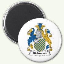 Richmond Family Crest Magnet
