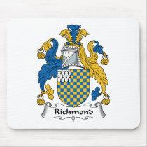 Richmond Family Crest Mousepad
